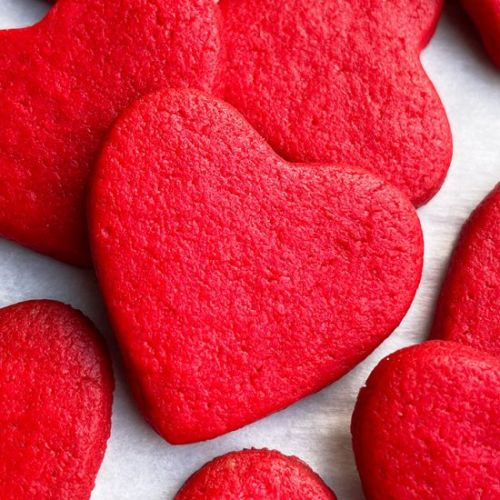 Easy Heart Cookies