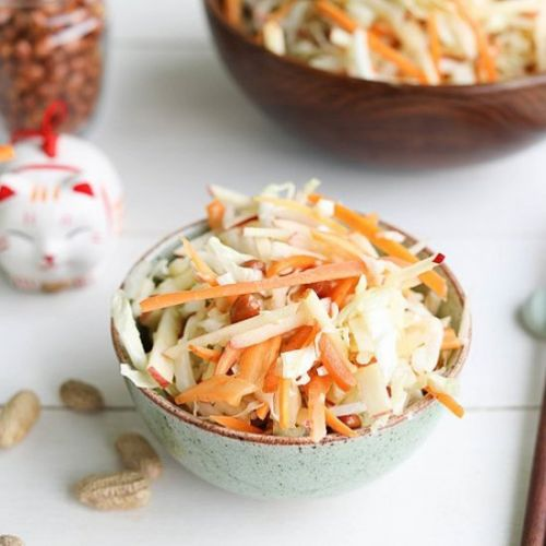 Napa Cabbage Salad Asian Style