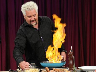 Guy Fieri Has Become the Muse of the Fashion World