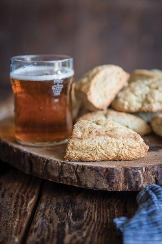 Ginger Beer Scones