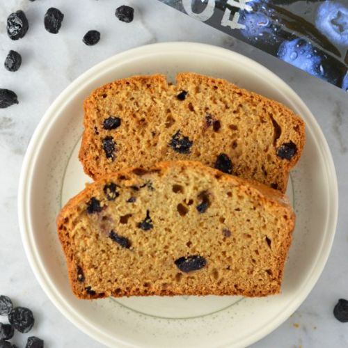 Blueberry Applesauce Bread