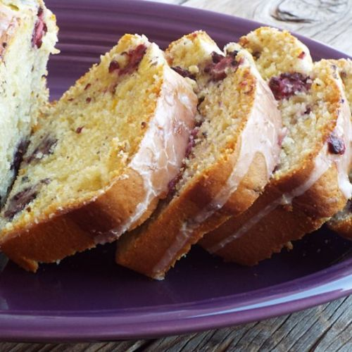 Blackberry Orange Quick Bread