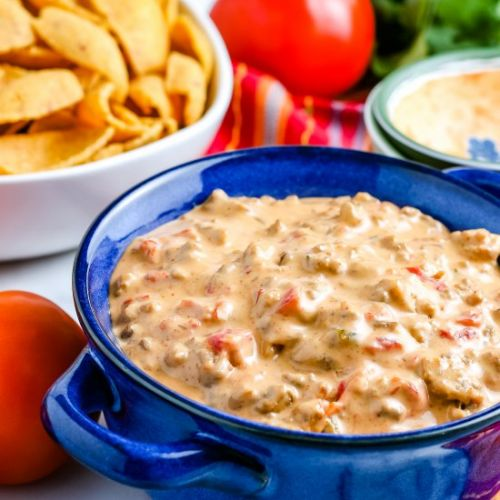Crockpot Chili Con Queso