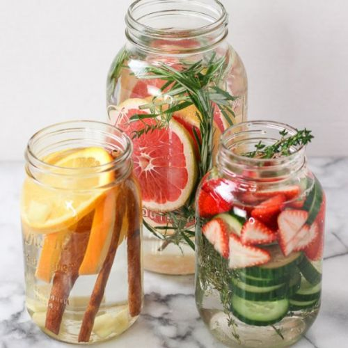Winter Infused Water