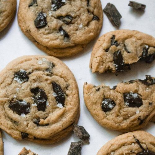 Best EVER Chocolate Chunk Cookies