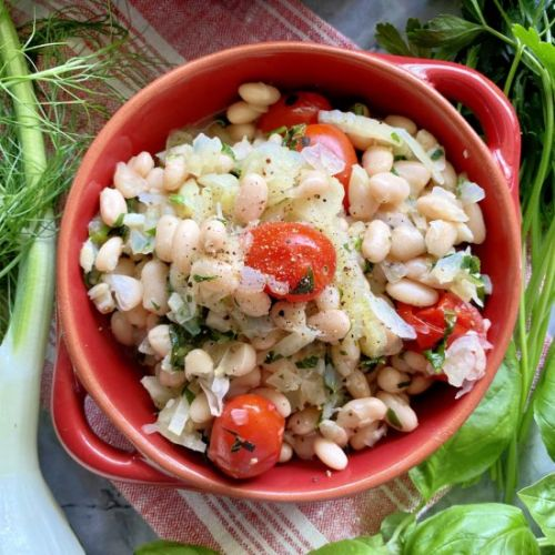 White Beans with Fennel
