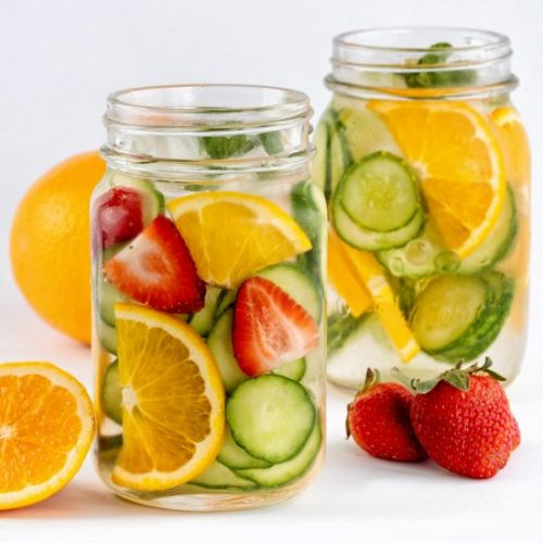 Healthy Cucumber Water Recipe