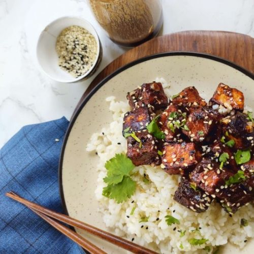 General Tso's Tofu, Vegan