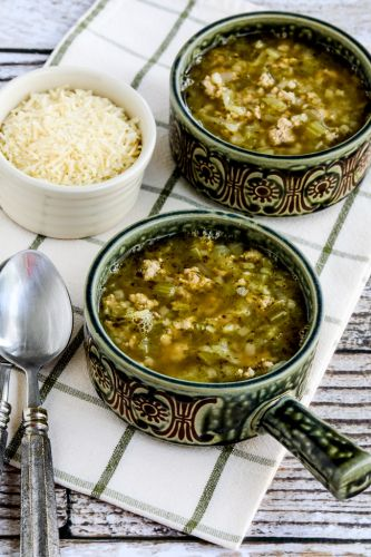 Instant Pot Turkey Rice Soup with Cabbage