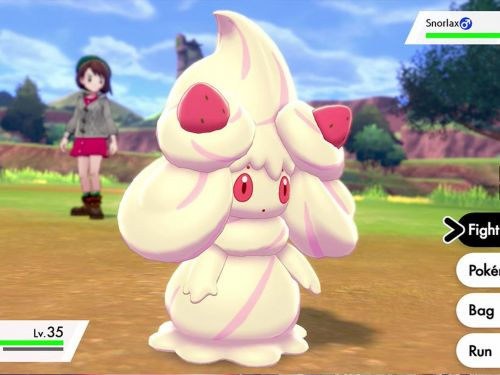 There Is Nothing Untoward About This Sentient Cream Pokémon