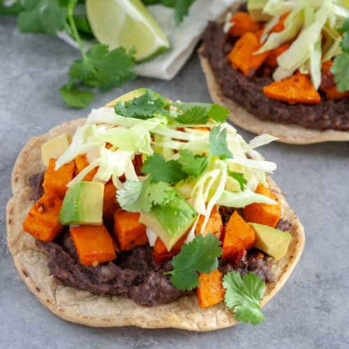 Chipotle Sweet Potato Tostadas