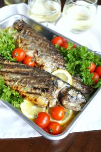 Spiced Grilled Trout
