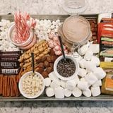 Hot Cocoa Charcuterie Boards Are a Thing, and They're Filled With Marshmallows, Cookies, and More