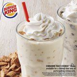 Burger King's New Cinnamon Toast Crunch Milkshake Has Cinnamon Swirls in Every Sip