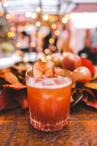 Orchard Thief: A Fall Cocktail
