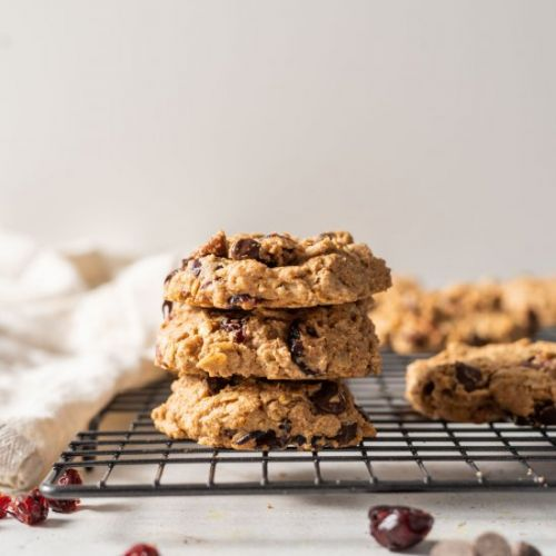 Vegan Cranberry Orange Cookies