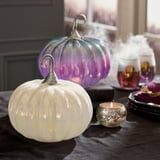 These Dazzling, Iridescent Pumpkins Are About to Make Halloween Absolutely Enchanting
