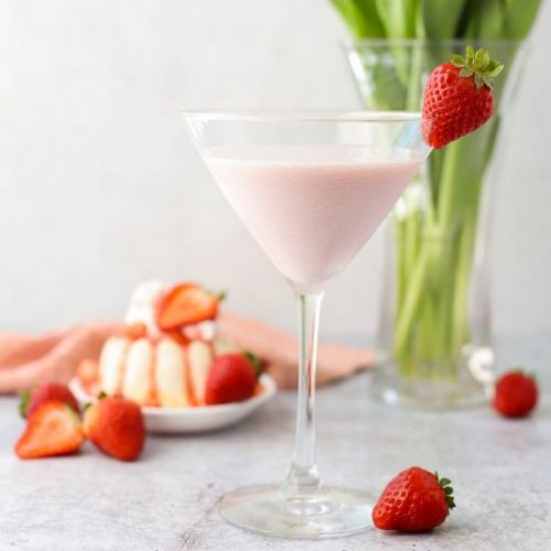Strawberry Shortcake Martini