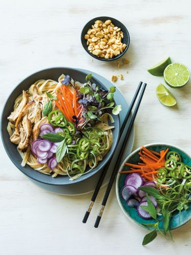 Instant Pot Thai Chicken Noodle Bowls