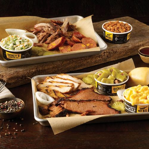 Double Up at Dickey's with Slow-Smoked Barbecue for Two