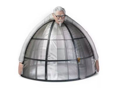 KFC's Colonel Sanders Dome Will Shield You From the Horrors of the Internet