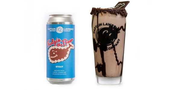 Carvel Made Fudgie the Beer With Captain Lawrence Brewing, And We Are Losing Our Minds