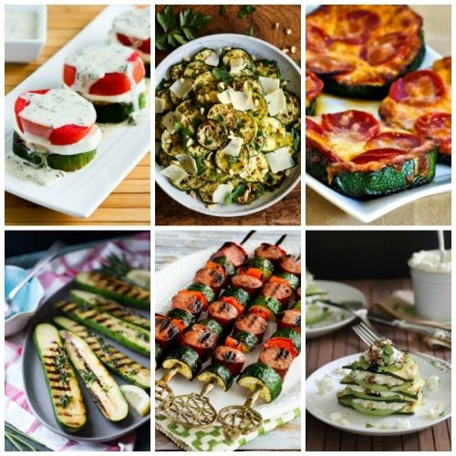 Ten Low-Carb Grilled Zucchini Recipes You'll Make Over and Over