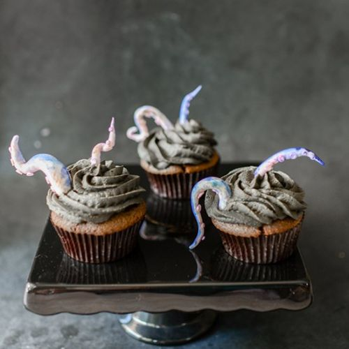 Creature From the Deep Cupcakes