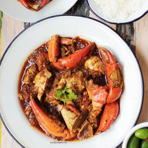 Bengali Style Crab Curry