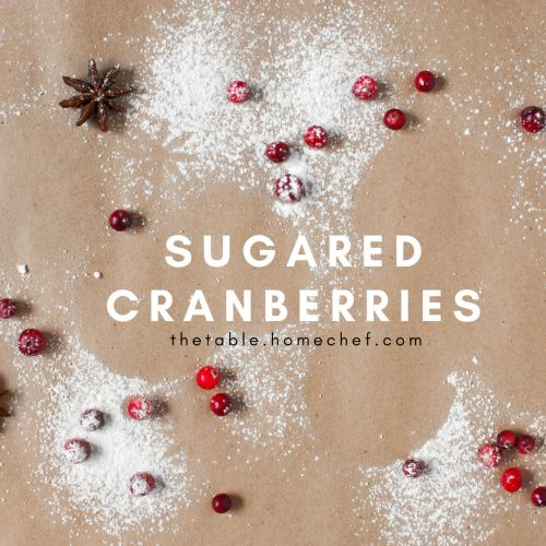 Holiday Sugared Cranberries Recipe