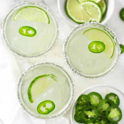 Easy Spicy Margaritas