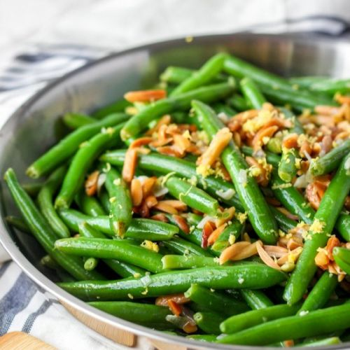 Almond and Lemon Green Beans