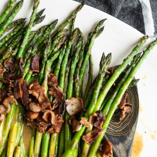 Maple Bacon Asparagus