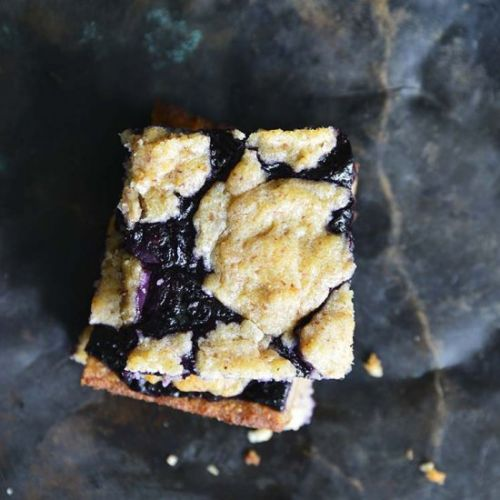 Fathead Blueberry Cobbler Bars