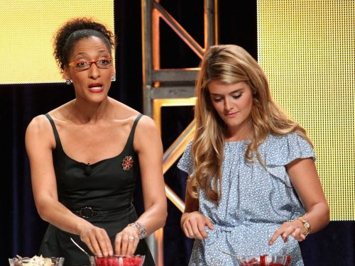 Carla Hall Says 'The Chew' Is in No Hurry to Replace Mario Batali