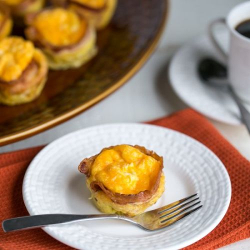 Low Carb Egg Muffins with Bacon