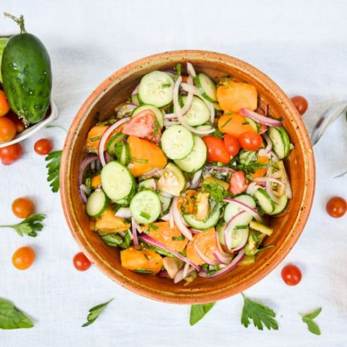 The Simplest Summer Salad