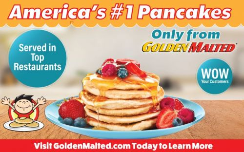 Add America's 1 Pancakes to Your Menu with Golden Malted