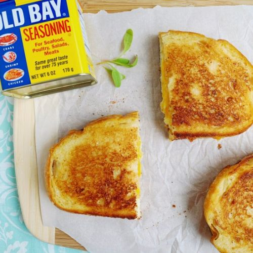 Crabby Grilled Cheese