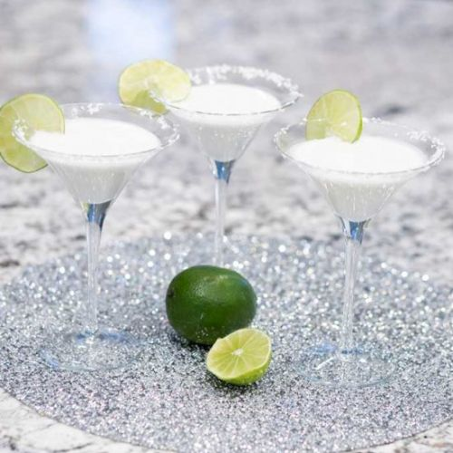 Coconut Lime Martini Mocktail, Keto