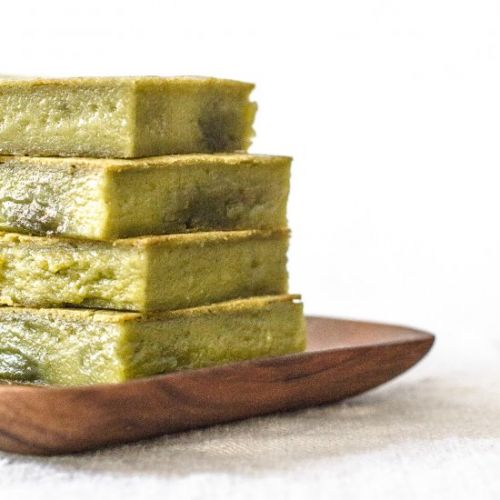 Real Deal Pandan Butter Mochi