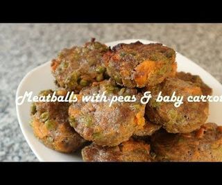 Meatballs With Peas & Baby Carrots Recipe