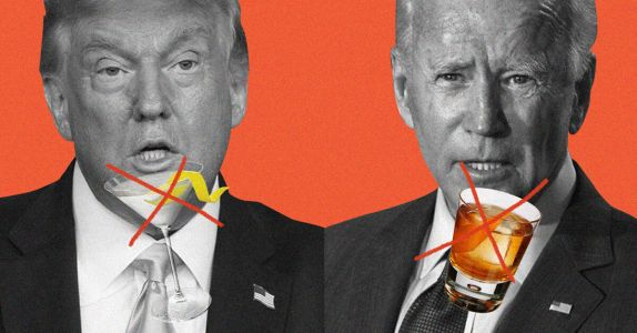 For the First Time in Decades, Neither Presidential Candidate Drinks Alcohol