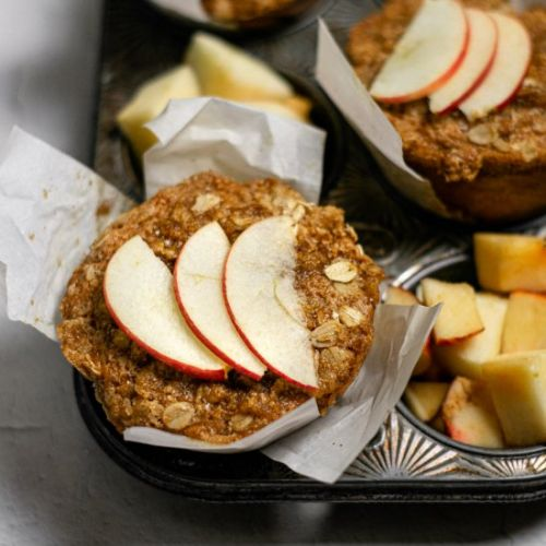Vegan Apple Cider Muffins