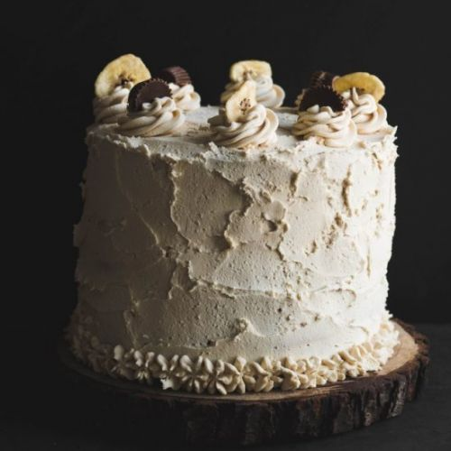 Chocololate PB Banana Cake