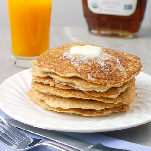 Thin Swedish Oatmeal Pancakes