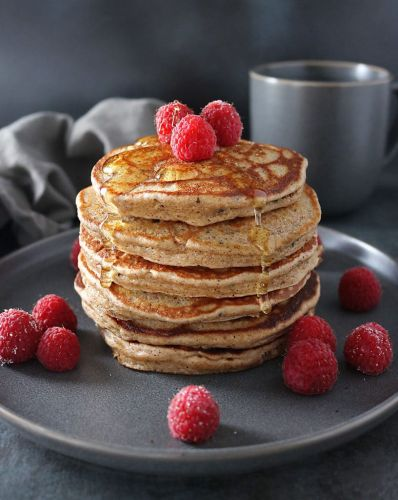 Gluten-Free: Almond and Hemp Pancakes