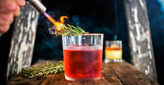 The Rosemary-Smoked Negroni Recipe
