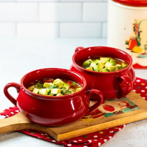 Slow Cooker Mexican Chicken Noodle