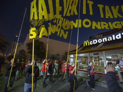 Tracking Fast-Food Workers' Efforts to Unionize